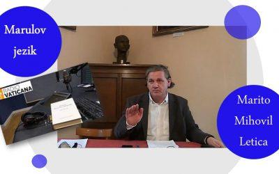 Radio Vatikan, O jeziku Marulićeve Judite