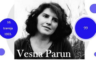 Devedeset devet godina od rođenja Vesne Parun