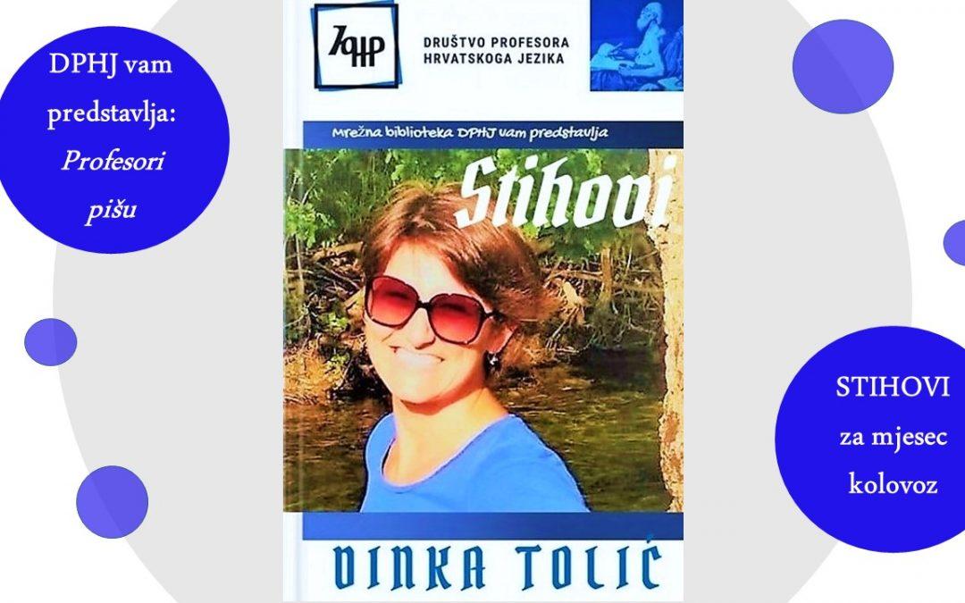 Profesori pišu: STIHOVI Dinke Tolić