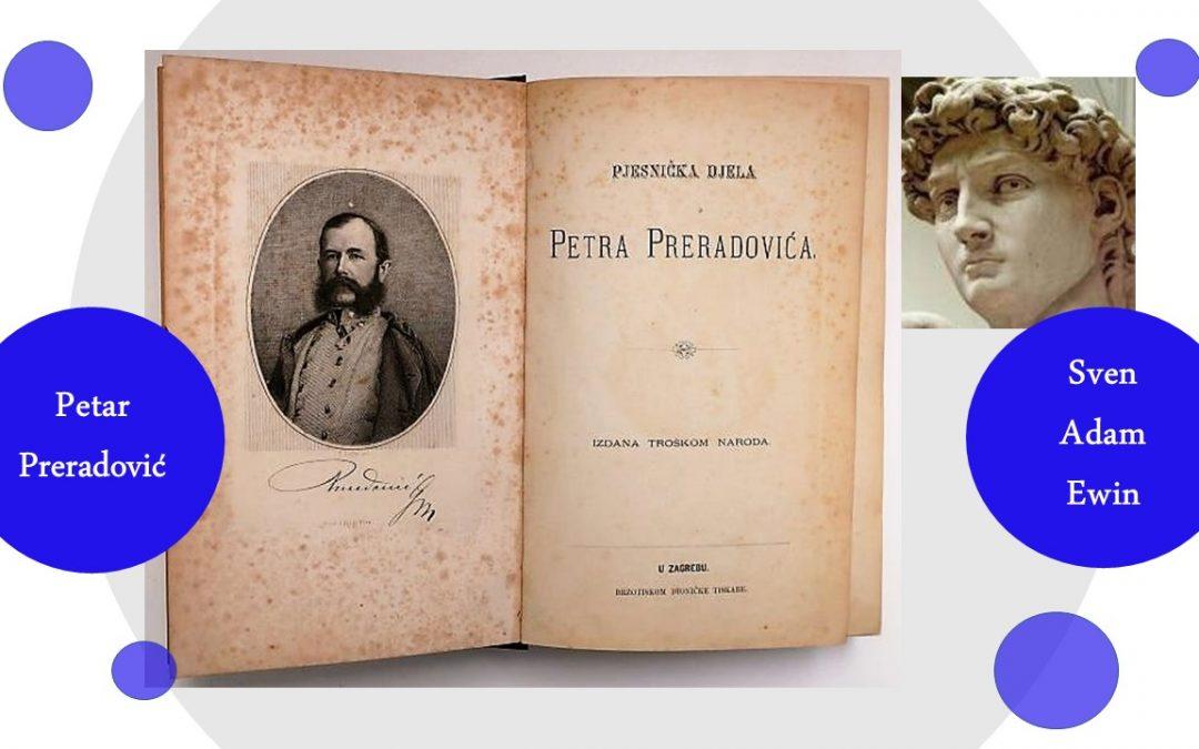 Dvije o jeziku: Petar Preradović i Sven Adam Ewin