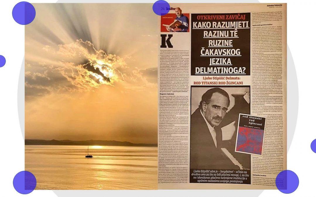 Ljubo Stipišić Delmata u riječima Siniše Vukovića